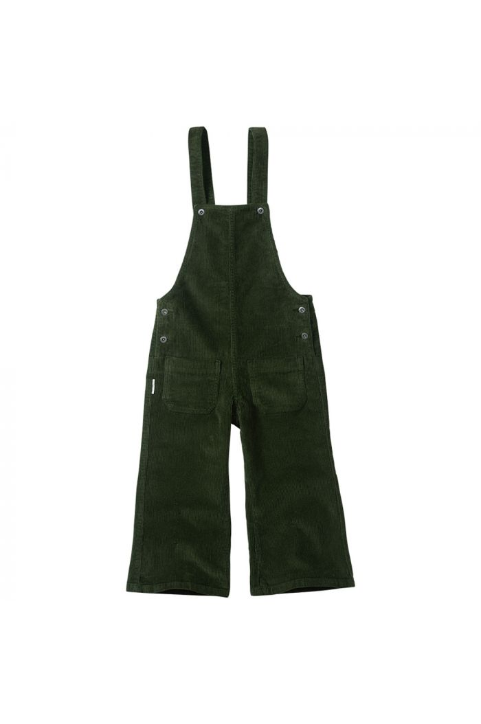 Mingo Corduroy Dungarees Forest Night_1