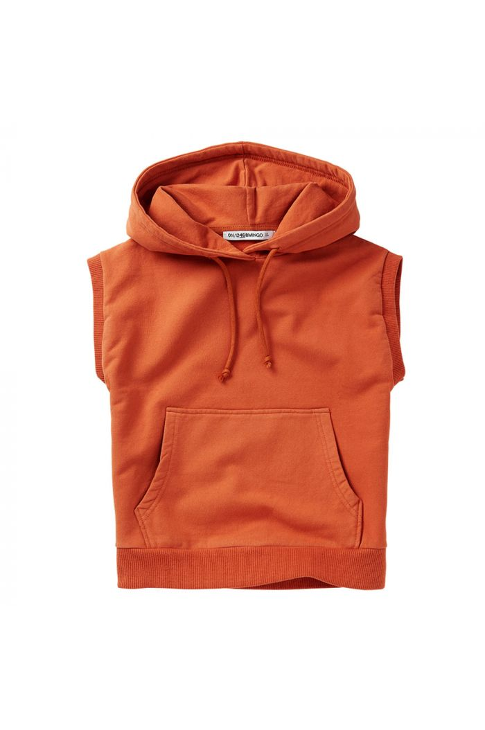 Mingo Sleeveless Hoodie Light Terracotta_1
