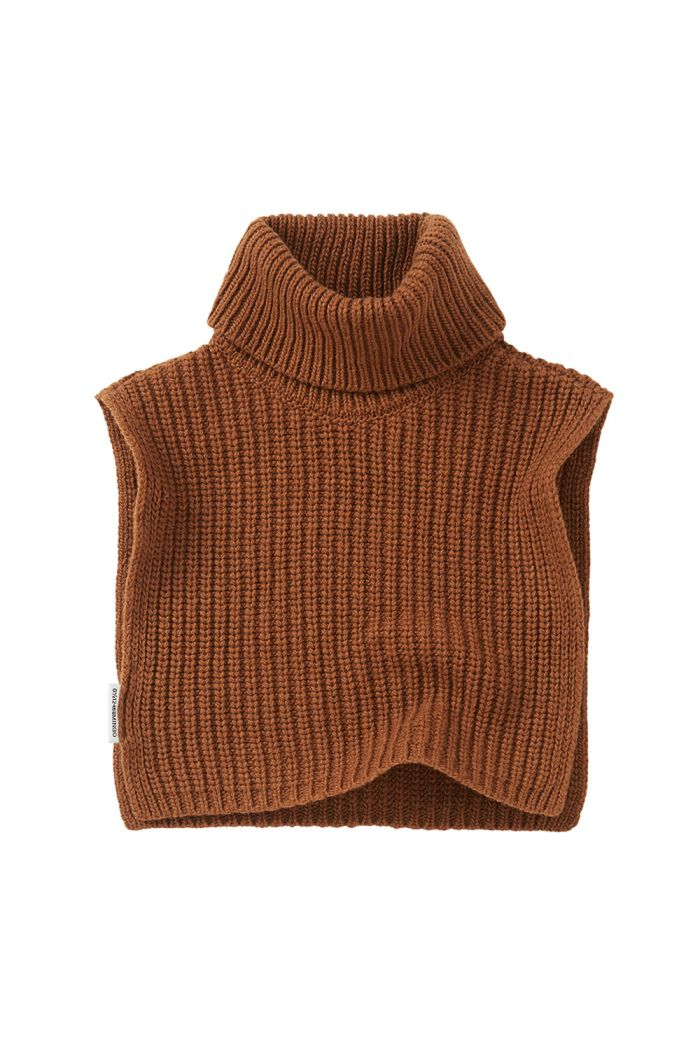 Mingo Soft Knit Collar Pecan_1