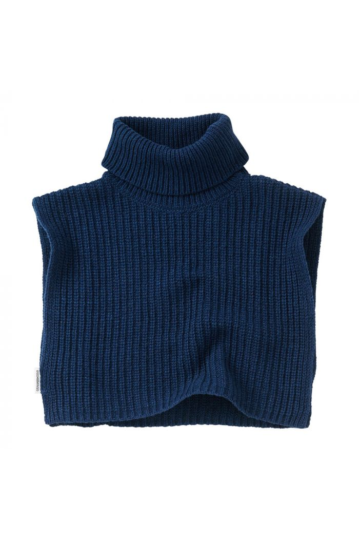 Mingo Soft Knit Collar Midnight Blue_1