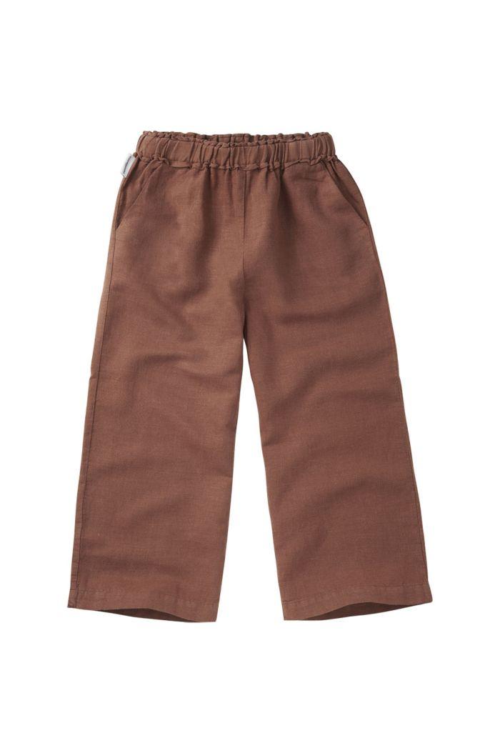 Mingo Linen Wide Pants Sienna Rose_1
