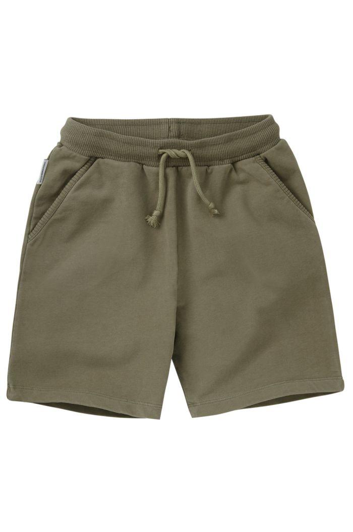 Mingo Sweat Short Sage Green_1