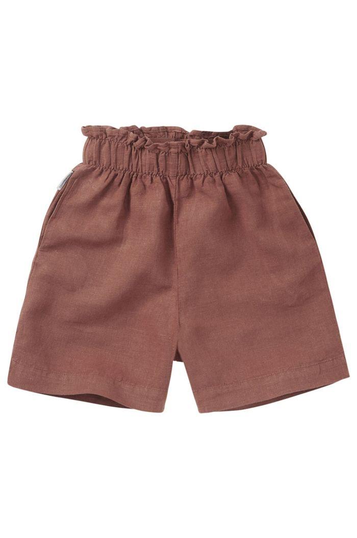 Mingo Linen Paper Bag Short Sienna Rose_1