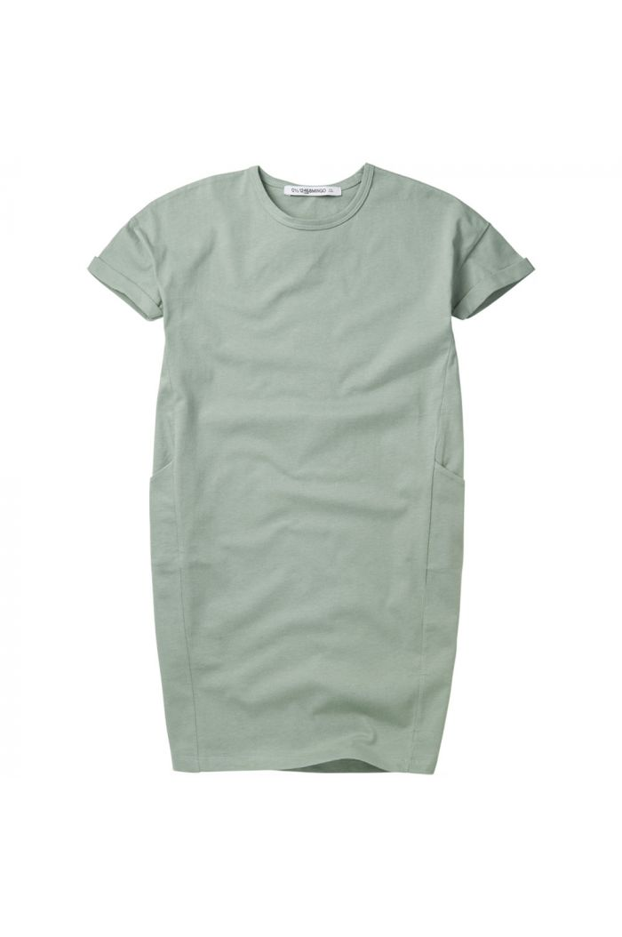 Mingo T-shirt Dress Sea Foam_1