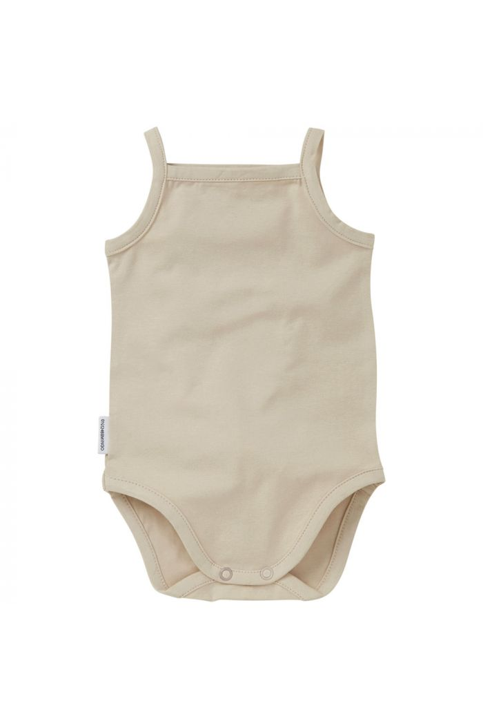Mingo Singlet Bodysuit Butter Cream_1