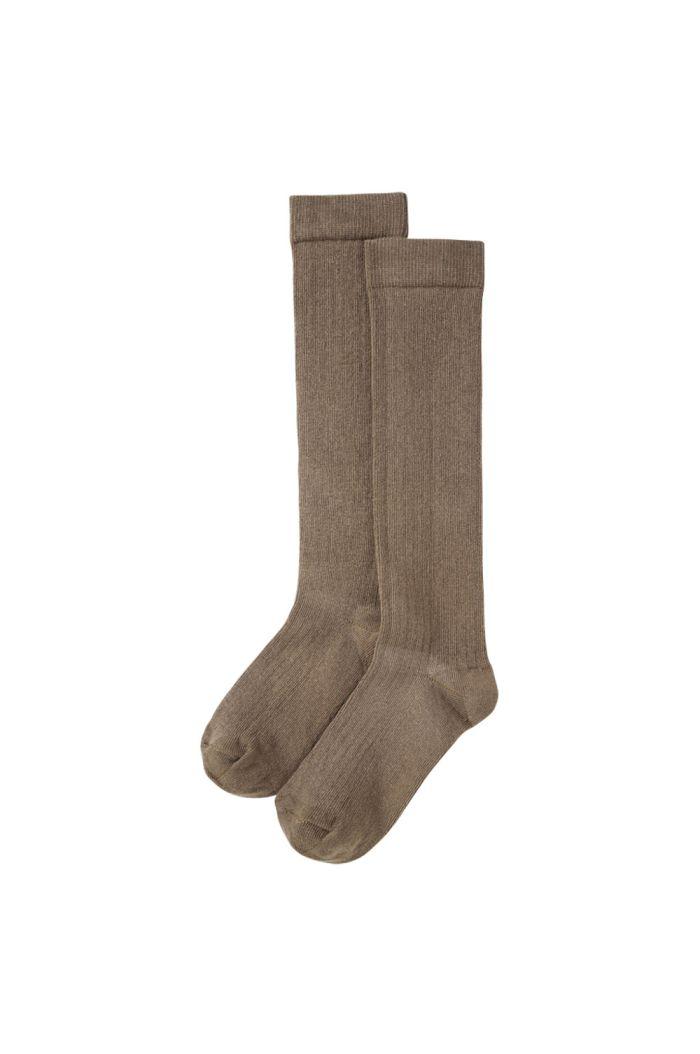 Mingo Knee Socks Moon Dust_1