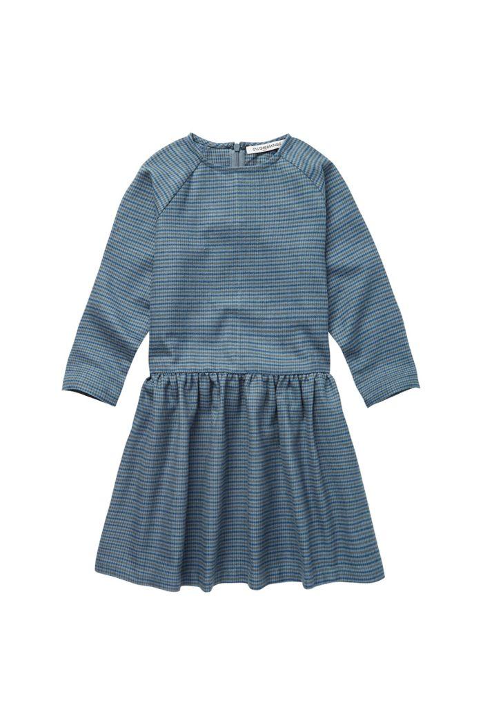 Mingo Dress British Blue Check_1