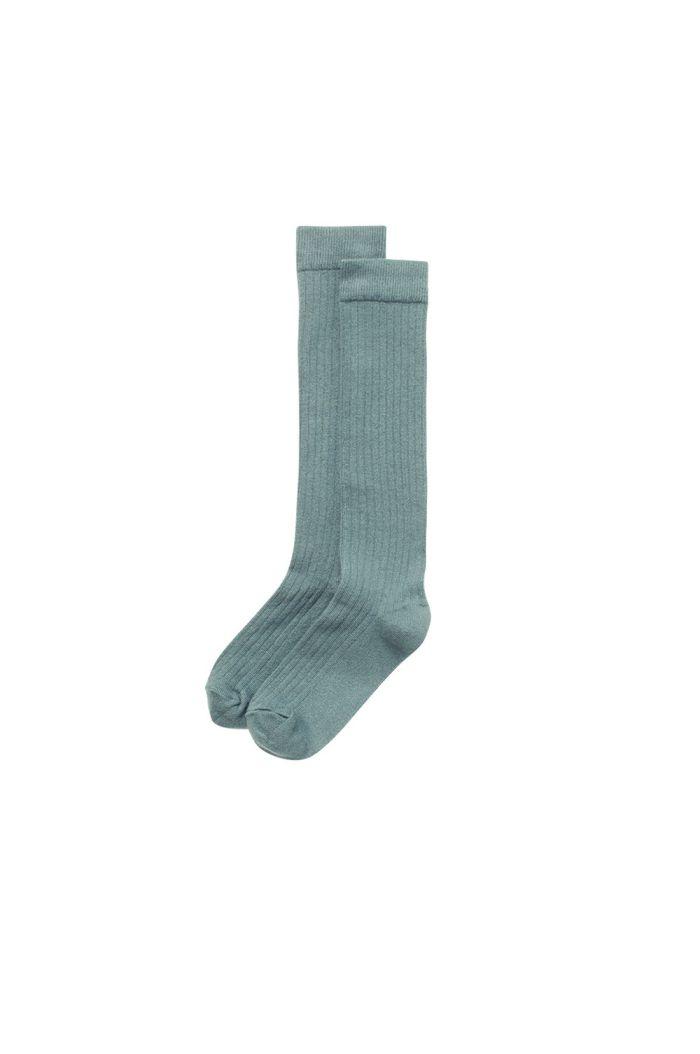 Mingo Knee Socks Sea Grass_1
