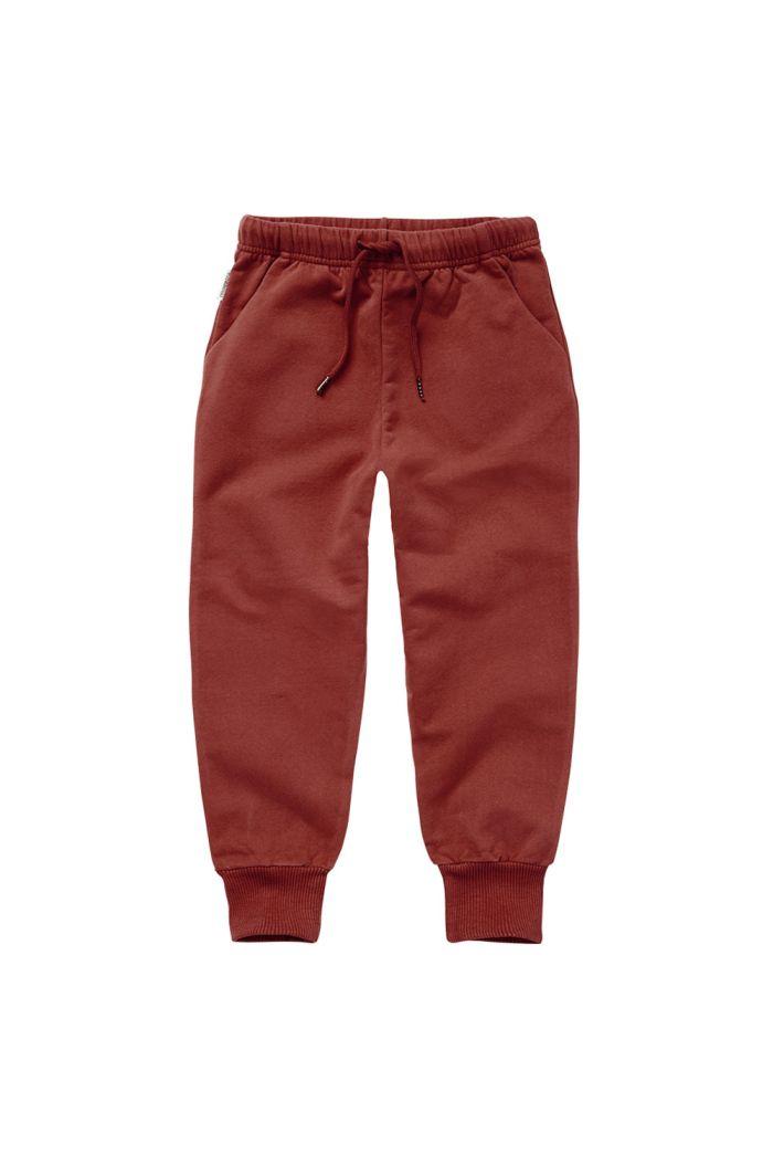 Mingo Sweat Pants Brick Red_1