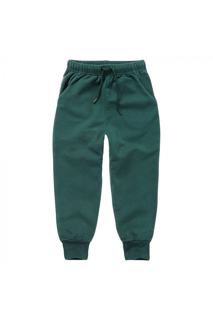 Mingo Sweat Pants Dark Emerald_1