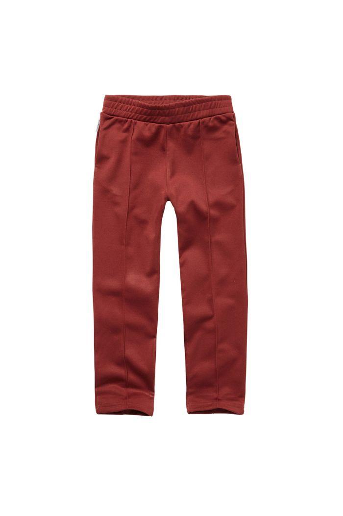 Mingo Tracking Pants Brick Red_1