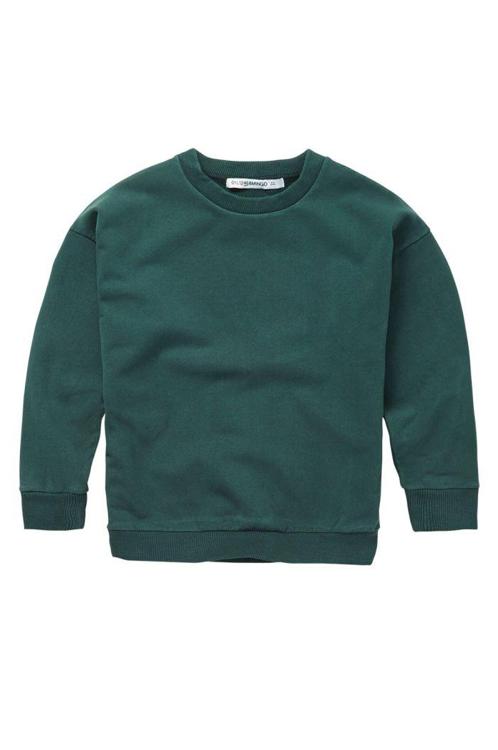 Mingo Sweater Dark Emerald_1