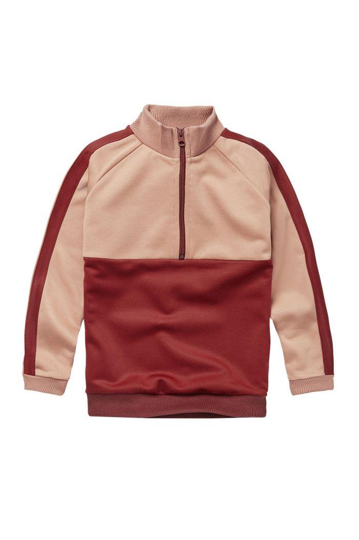 Mingo Tracking Sweater Brick Red_1