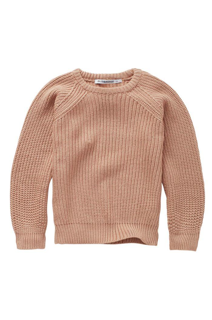 Mingo Knit Sweater Chocolate Milk