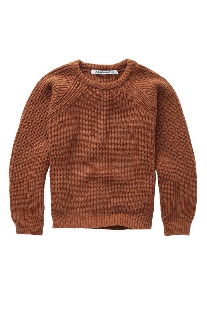 Mingo Knit Sweater Burnished Leather
