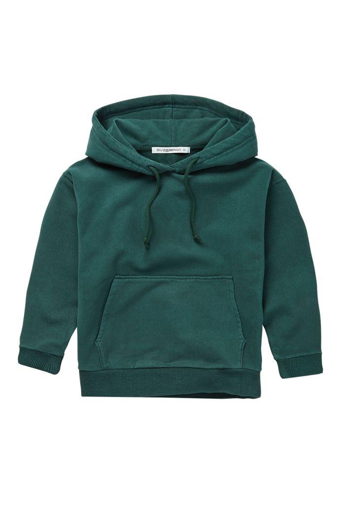 Mingo Hoodie Dark Emerald_1