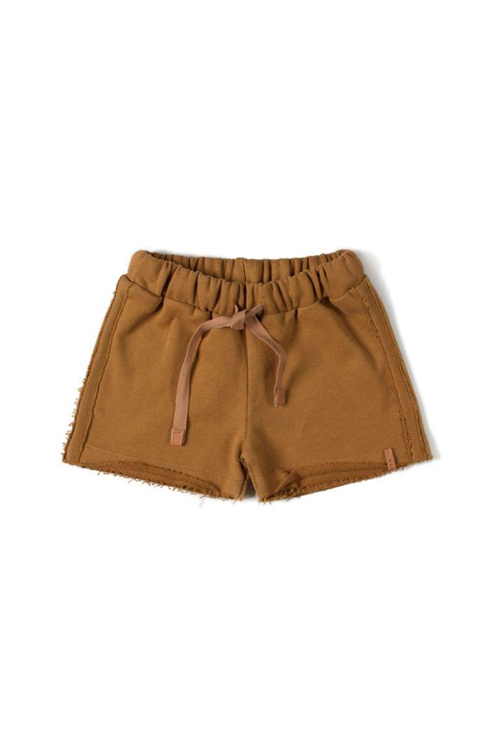 Nixnut Basic Short Caramel_1