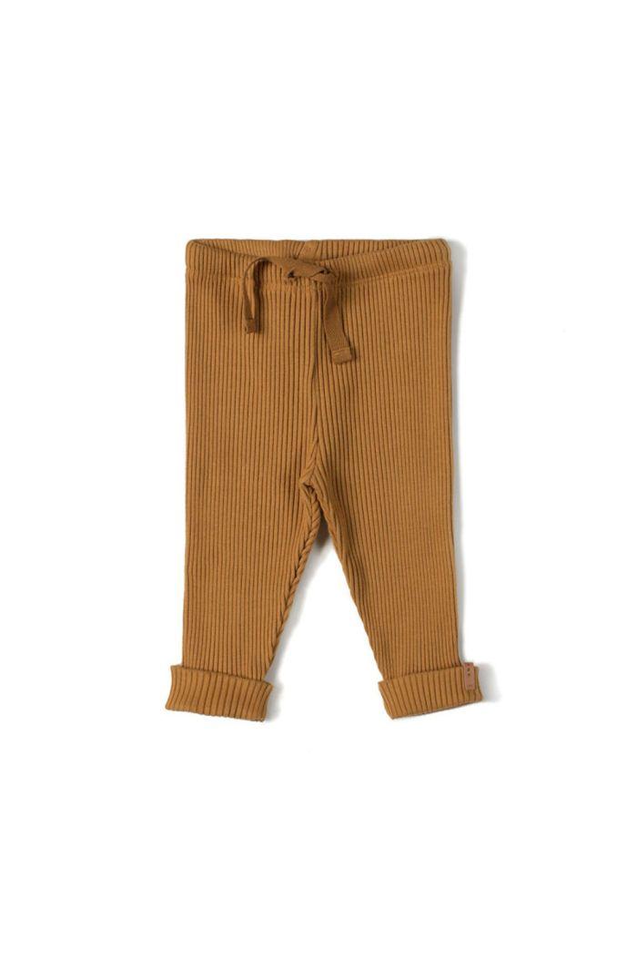 Nixnut Rib Legging Caramel_1