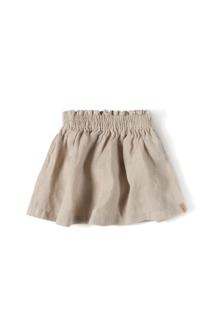 Nixnut Lin Skirt Sand_1