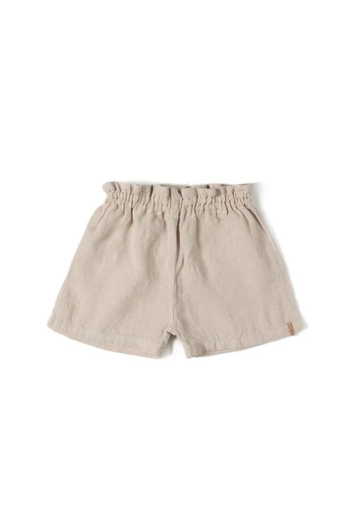 Nixnut Ruf Short (Rib Short) Sand_1