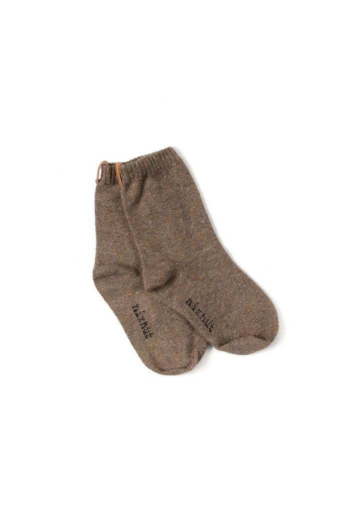 Nixnut Socks Brown_1