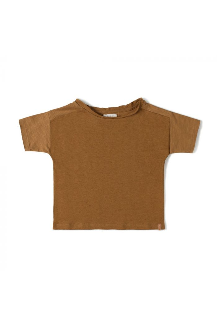 Nixnut Com Tshirt Caramel_1