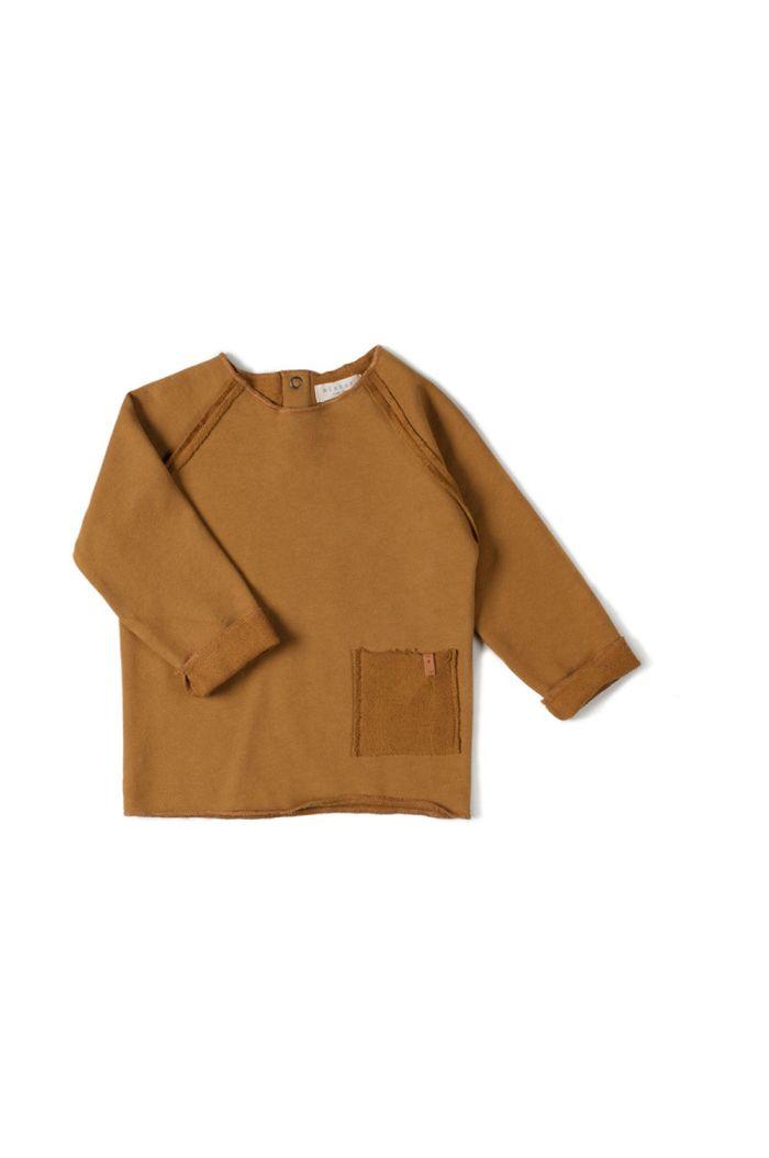 Nixnut Raw Shirt  Caramel_1