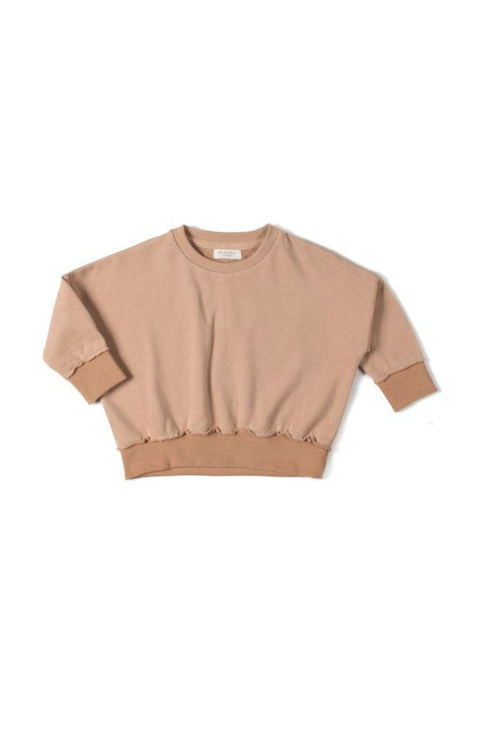 Nixnut Loose Sweater Nude _1