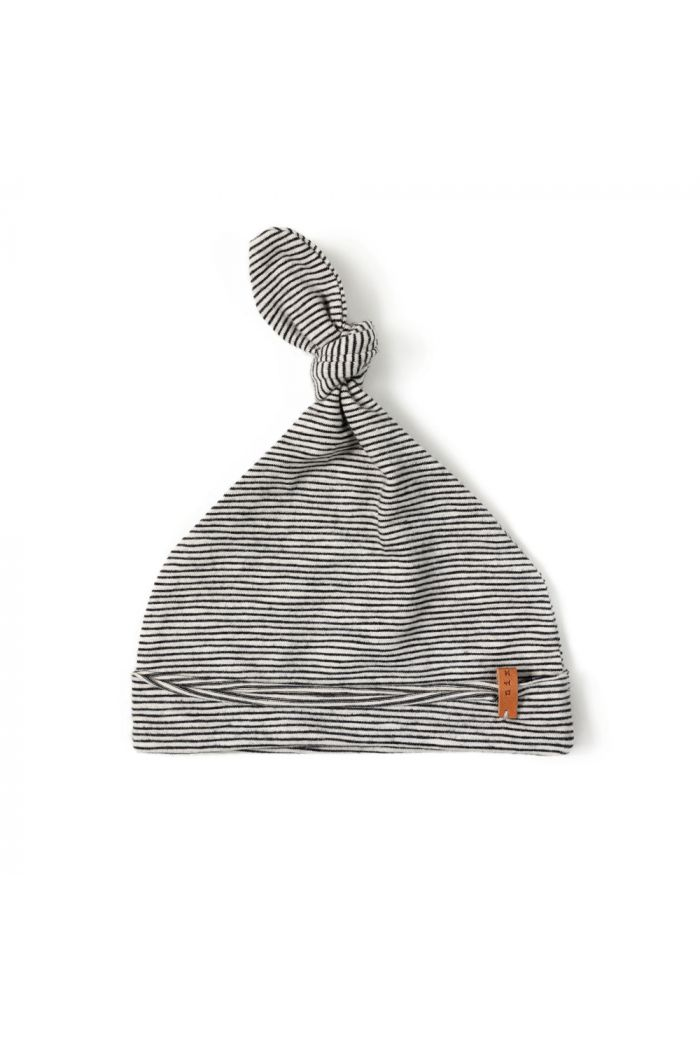 Nixnut Newbie Hat Stripe Black/White_1