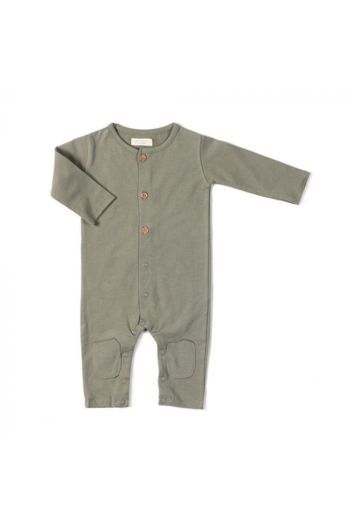 Nixnut Button Onesie Wild_1