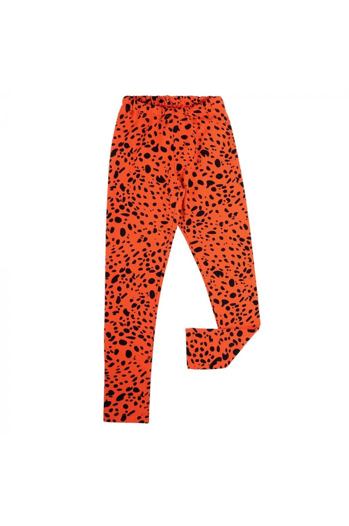 CarlijnQ legging Red Spotted animal