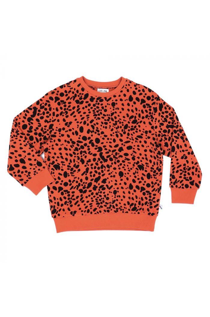 CarlijnQ sweater Spotted animal