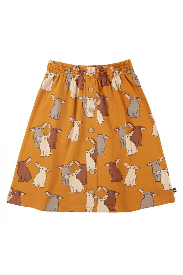 CarlijnQ Midi Skirt With Pockets Rabbits_1