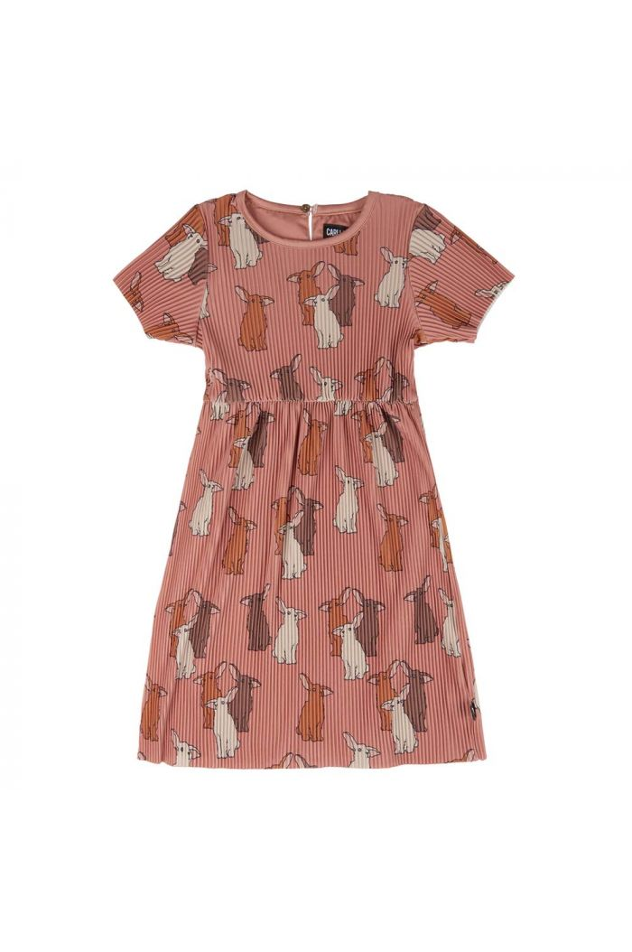 CarlijnQ Short Sleeve Dress Rabbits_1
