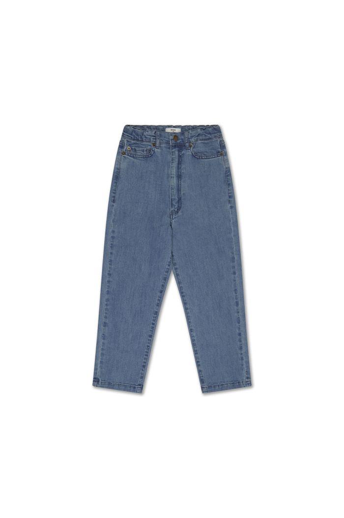 Repose AMS denim 5 pocket mid blue