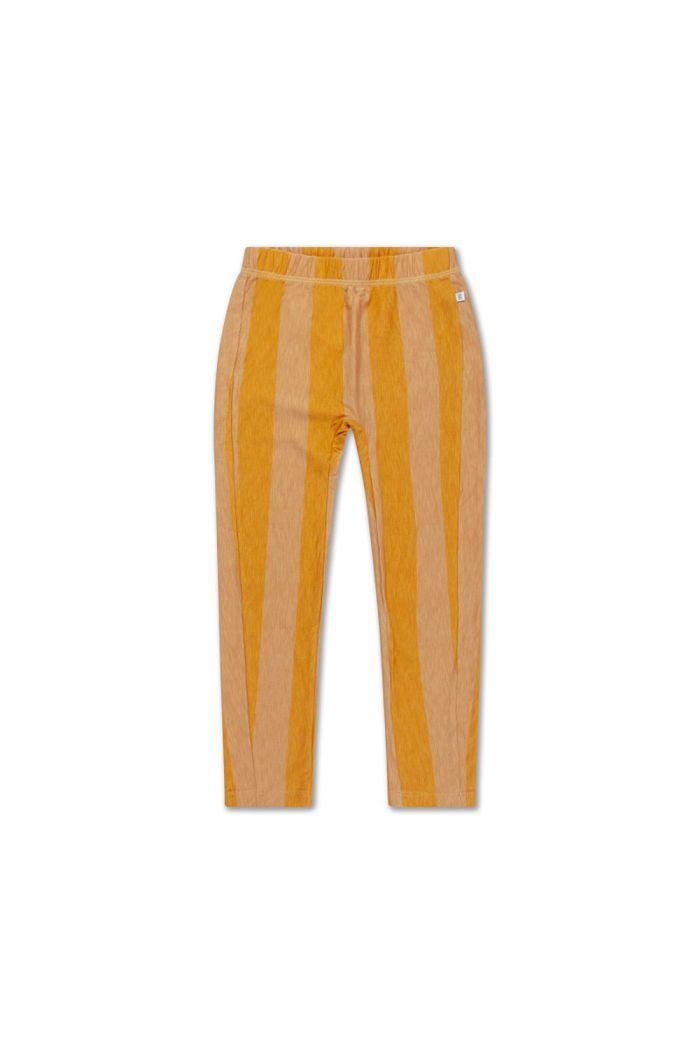 Repose AMS tricot pants golden block stripe