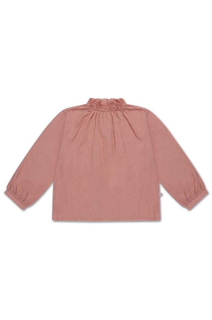 Repose AMS ruffle blouse powder peachy