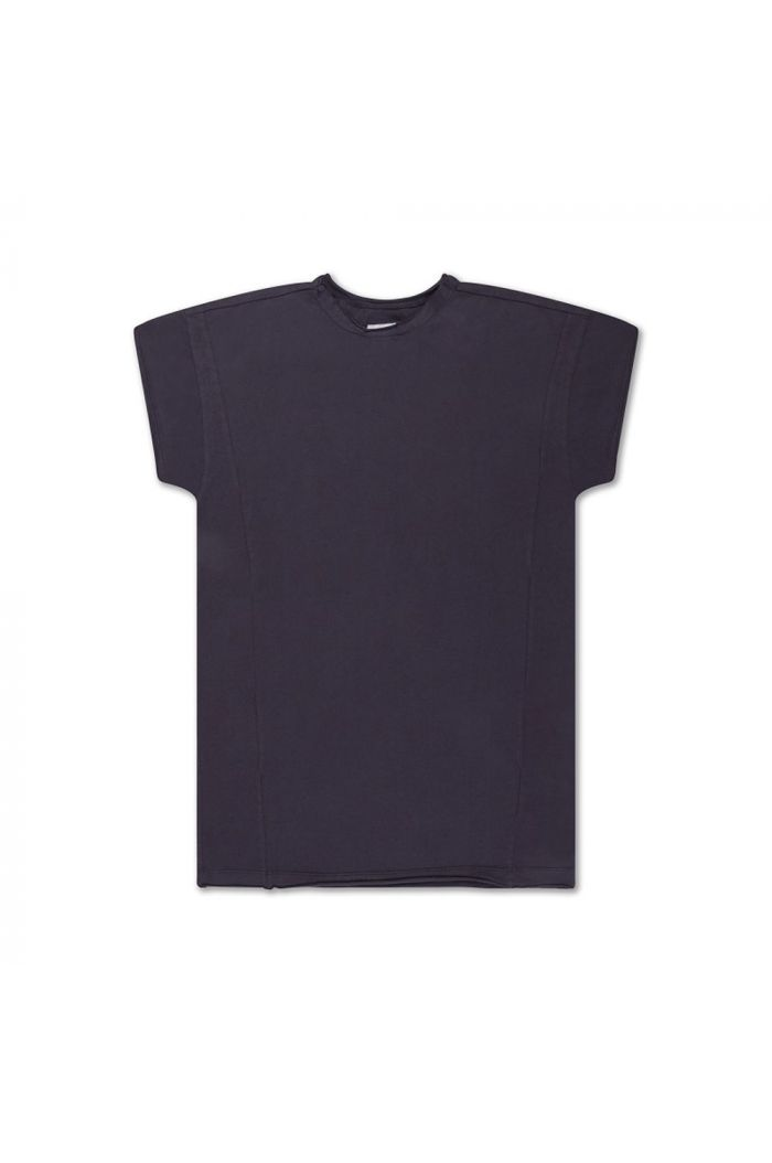 Repose AMS tee shirt dress dark night grey