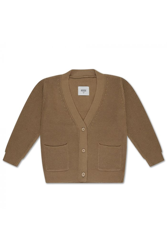 Repose AMS knit cardigan v neck Beige Sand