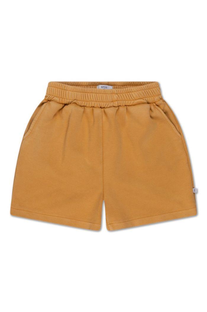 Repose AMS sweat short Golden Yellow