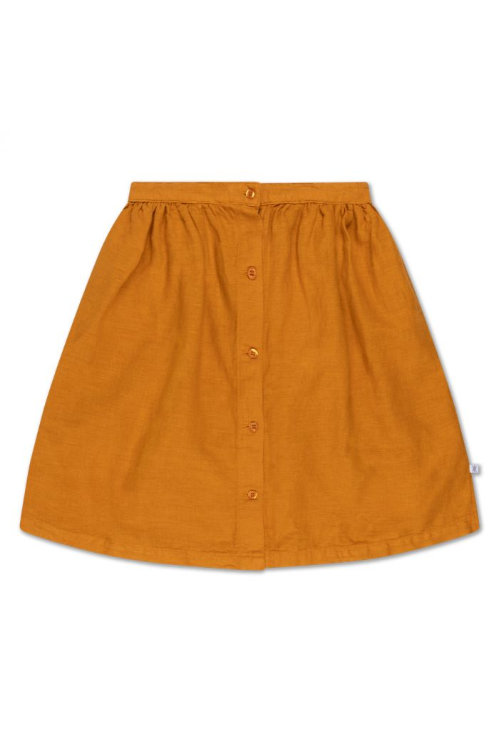 Repose AMS button down skirt Golden Yellow