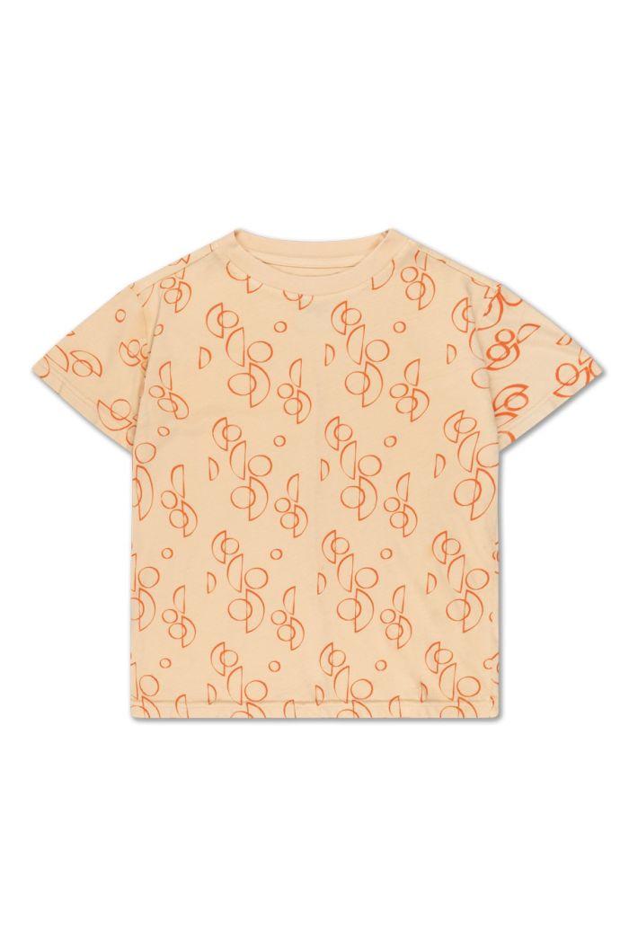 Repose AMS tee shirt loop print