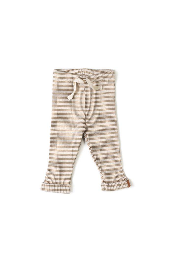 Nixnut Rib Legging Biscuit Stripe_1