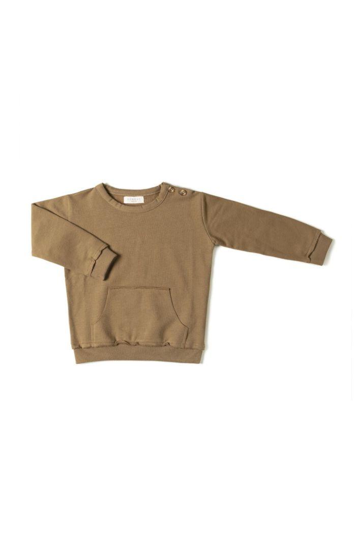 Nixnut Kangaroo Sweater  Olive_1