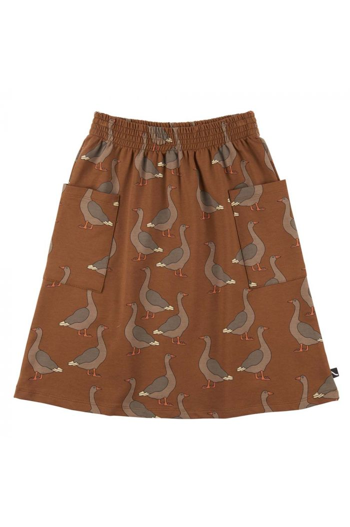 CarlijnQ Midi Skirt With Pockets Goose_1