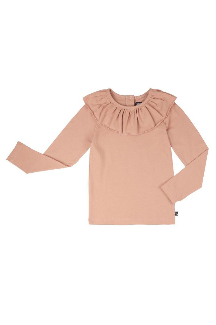 CarlijnQ Basics - Longsleeve With Big Collar Pink_1