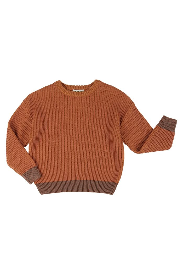 CarlijnQ Basics Knit - Sweater Brown_1