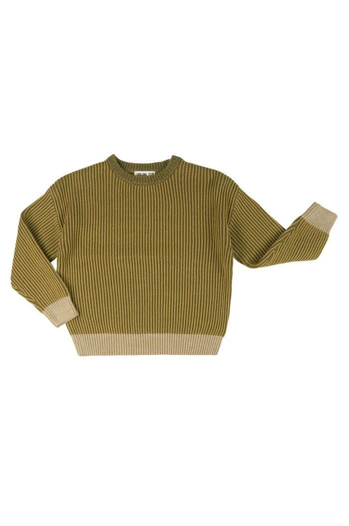 CarlijnQ Basics Knit - Sweater  Green_1