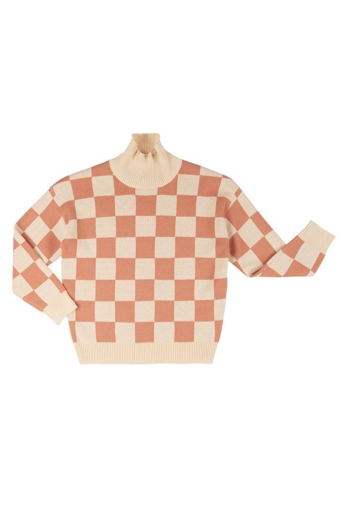 CarlijnQ Basics Knit - Sweater  checkers_1
