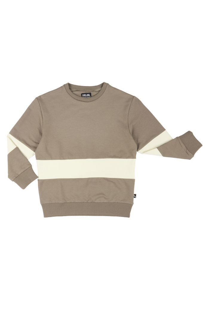 CarlijnQ Sweater Block  Basics - Grey_1